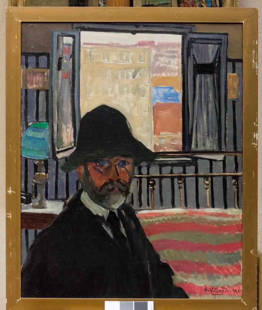 Philip Bernard, Autoportrait