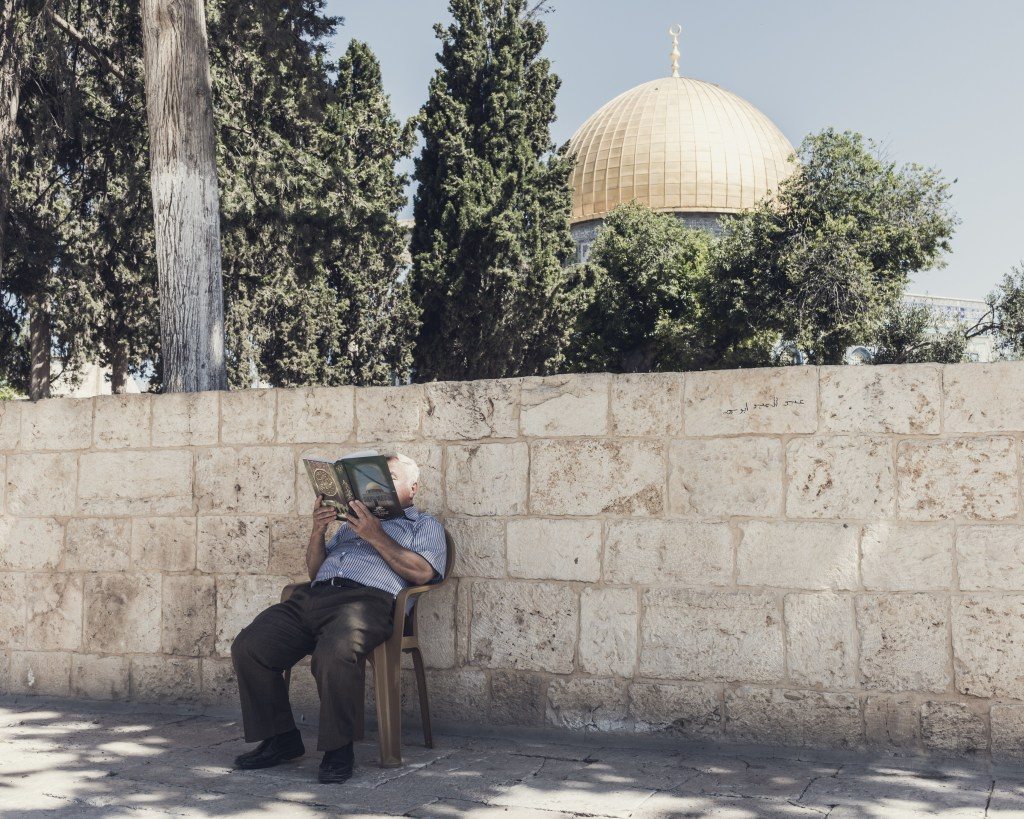 Dome of the Rock, Jerusalem. Juin 2016