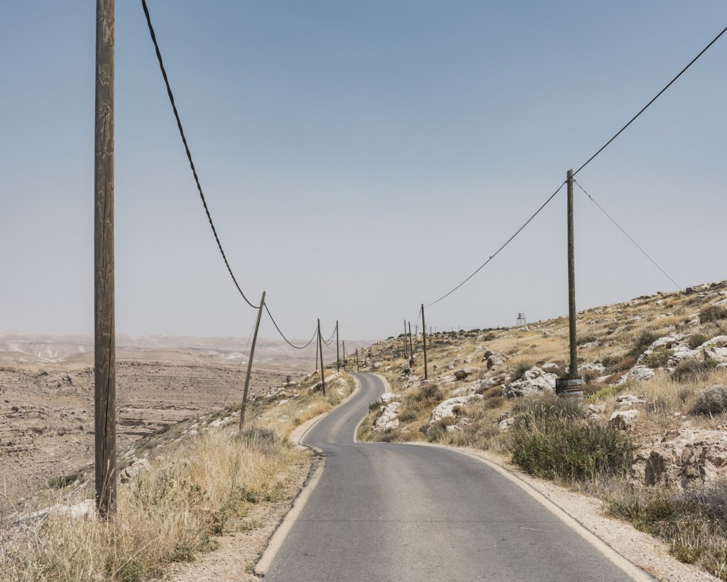 Tekoa settlement, West Bank mai 2017