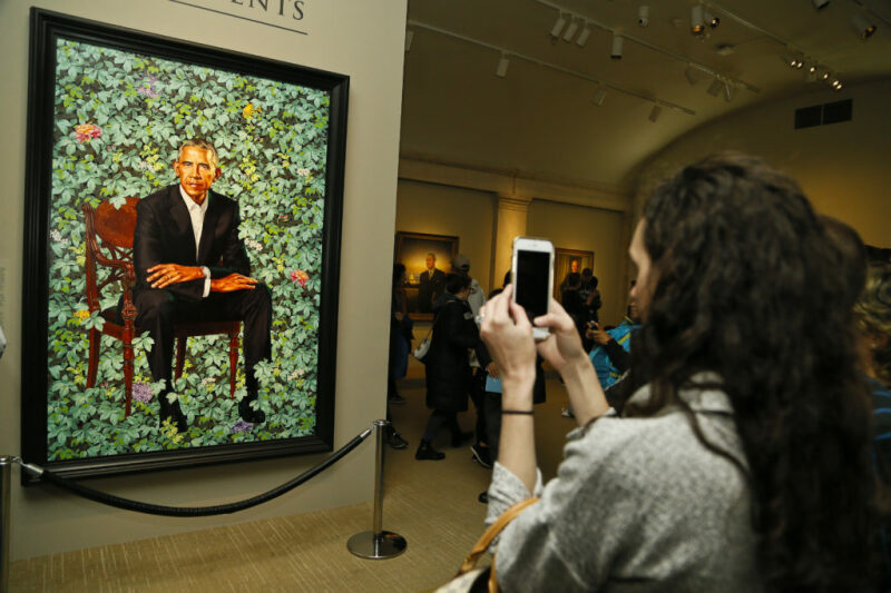(c) Paul Morigi, courtesy of the Smithsonian's National Portrait Gallery