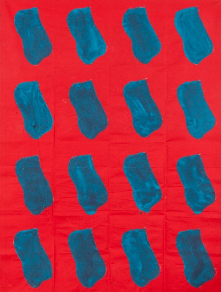C Viallat, Sans titre n°97 - 2005