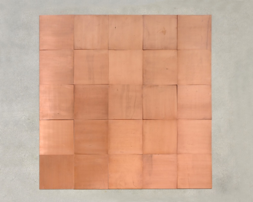 Carl Andre, Fifth Copper Square, 2007