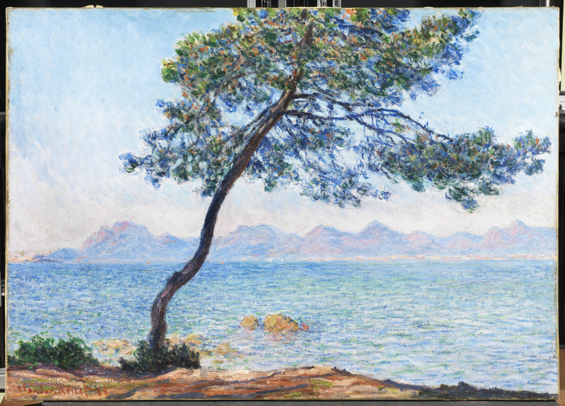 Claude Monet, Antibes, 1888 Huile sur toile65.5 x 92.4 cm The Courtauld Gallery (The Samuel Courtauld Trust),LondonCOPYRIGHT : The Samuel Courtauld Trust, The Courtauld Gallery, London