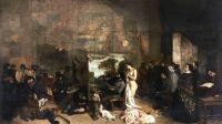 Courbet, L'Atelier du peintre