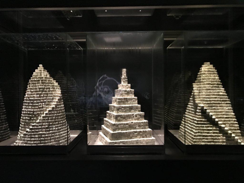 Vue de l'exposition Cycle Mutations Créations 3, La Fabrique du vivant, Erika Verzutti, Centre Pompidou, Paris (2)
