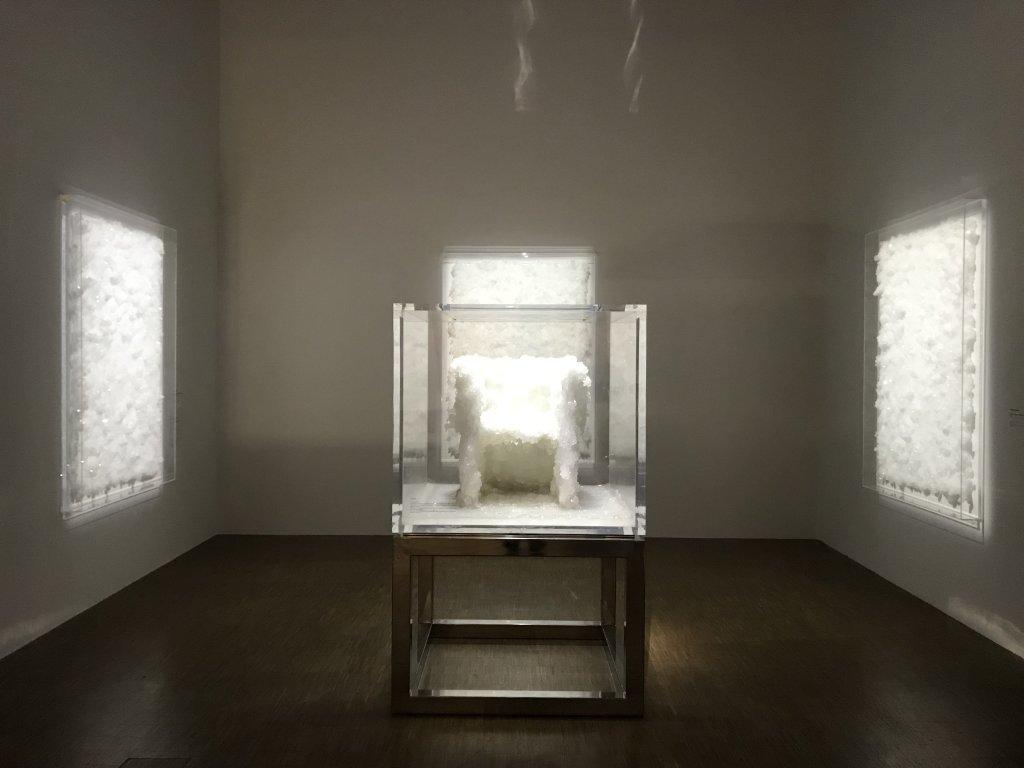 Vue de l'exposition Cycle Mutations Créations 3, La Fabrique du vivant, Erika Verzutti, Centre Pompidou, Paris (23)
