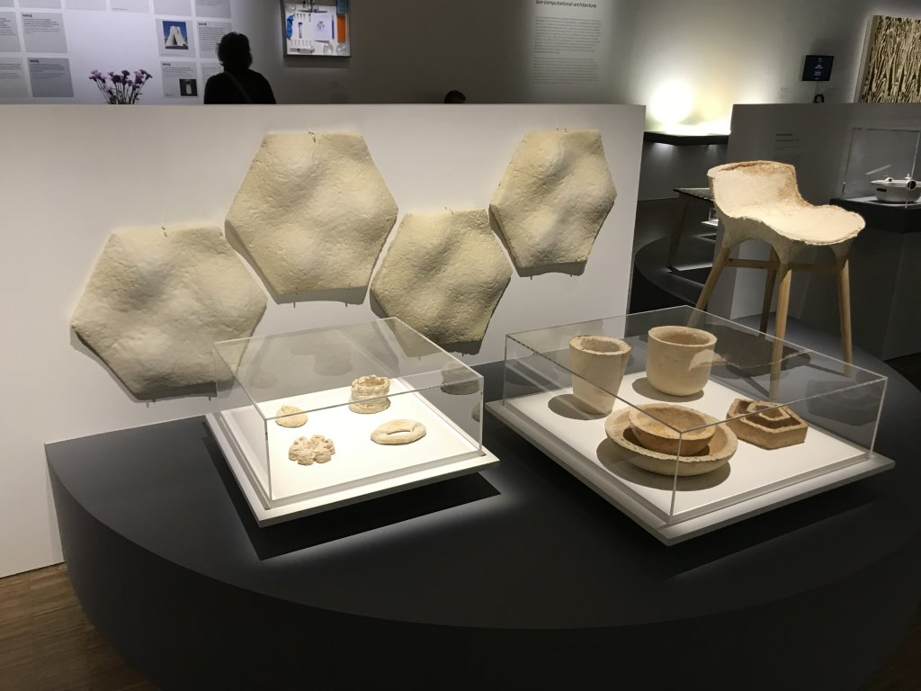 Vue de l'exposition Cycle Mutations Créations 3, La Fabrique du vivant, Erika Verzutti, Centre Pompidou, Paris (7)