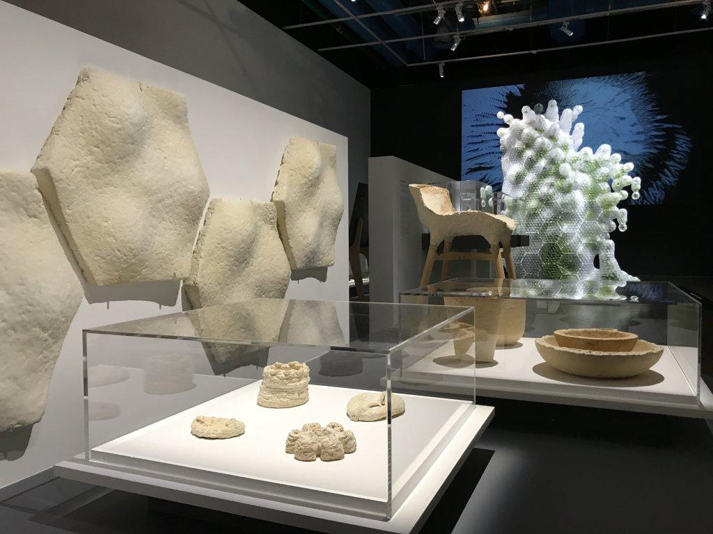 Vue de l'exposition Cycle Mutations Créations 3, La Fabrique du vivant, Erika Verzutti, Centre Pompidou, Paris (70)