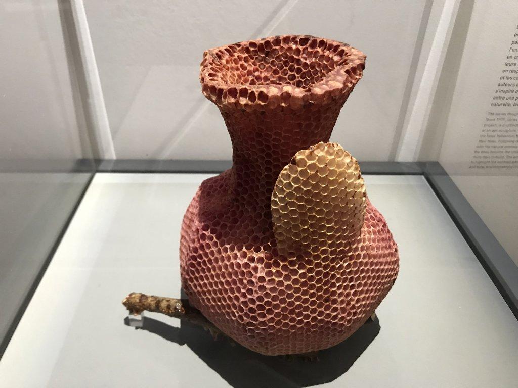 Vue de l'exposition Cycle Mutations Créations 3, La Fabrique du vivant, Erika Verzutti, Centre Pompidou, Paris (76)