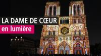 Dame de coeur, Parvis de la Cathédrale Notre-Dame de Paris (1)