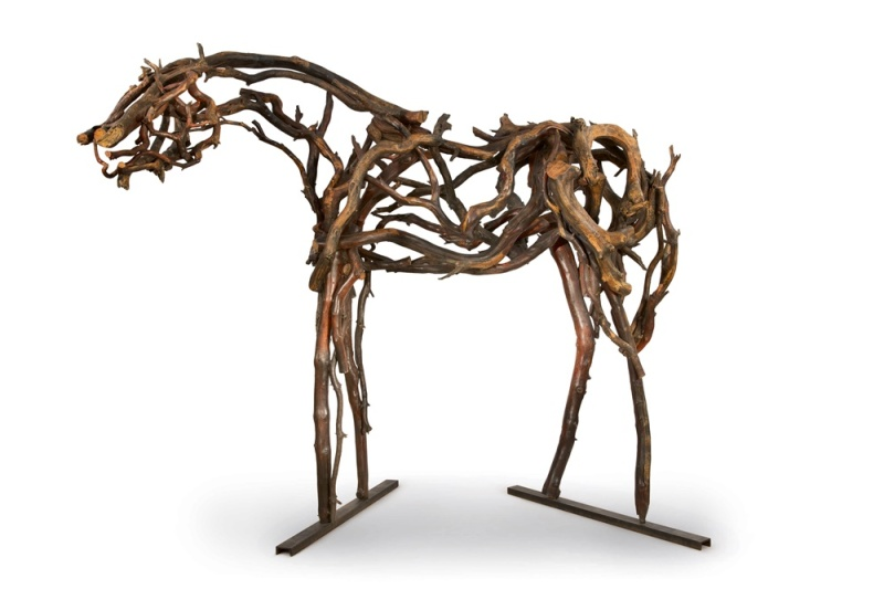 Deborah Butterfield, Madrone (Cody) (2000), The Marsha and Robin Williams Collection, Image courtesy Sotheby's