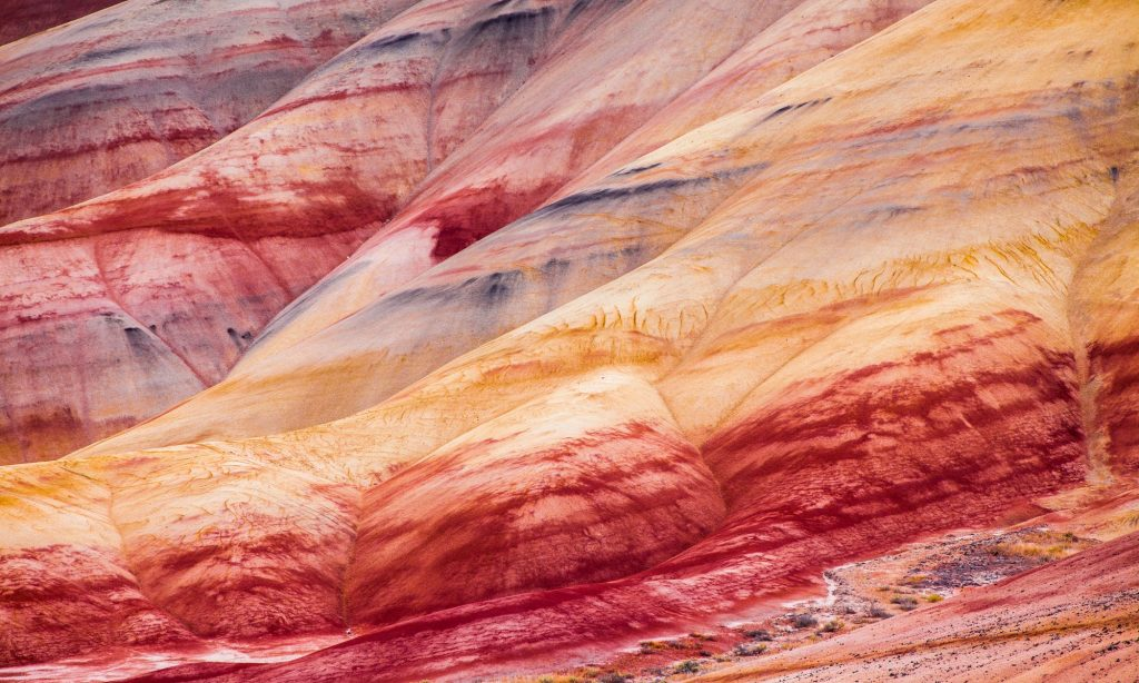 détail, painted hills