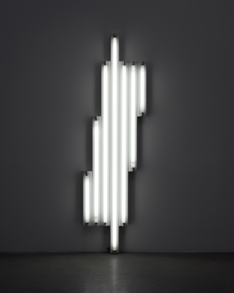 "Dan Flavin, ""Monument"" for V. Tatlin, 1967"