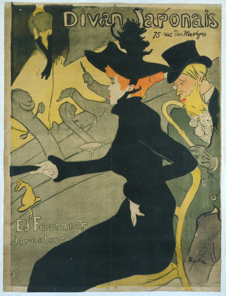 Henri de Toulouse-Lautrec, Divan Japonais, 1892