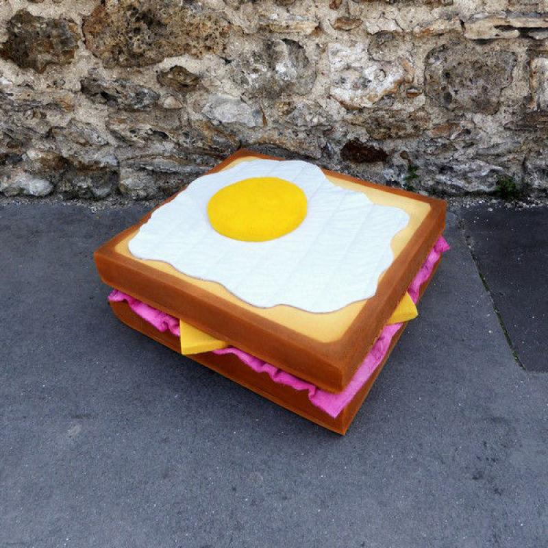 Eat me, croque-madame, (c) Lor-K, tous droits réservés