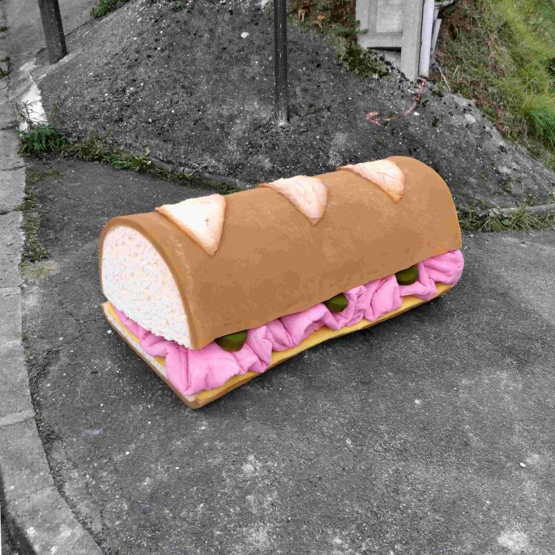 Eat me, sandwich, (c) Lor-K, tous droits réservés