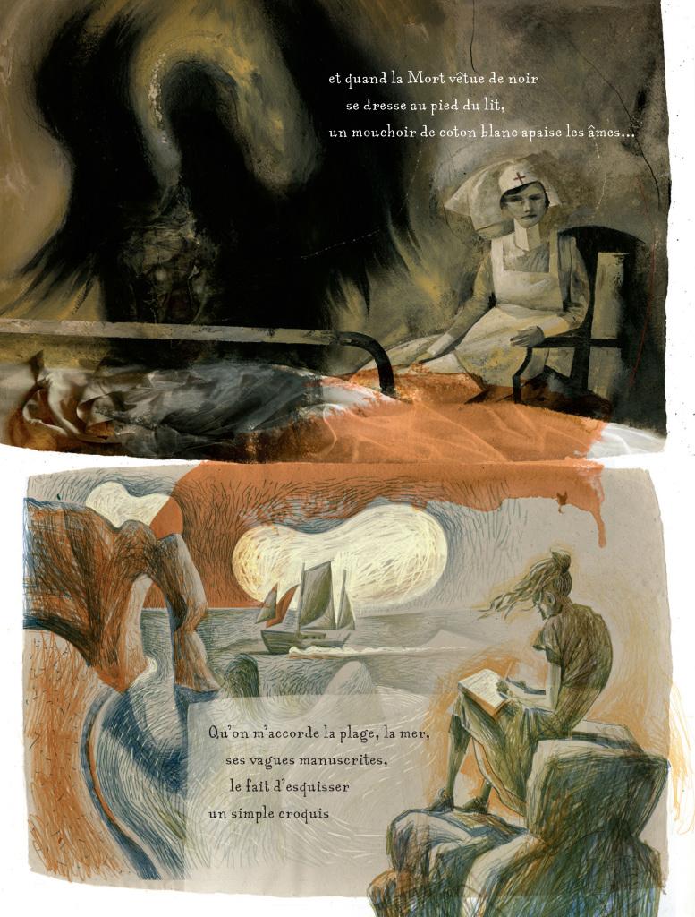 Extrait Armitage-McKean - Bande dessinée Traces de la Grande Guerre, ce qu'il en reste - Collectif On A Marché Sur La Bulle