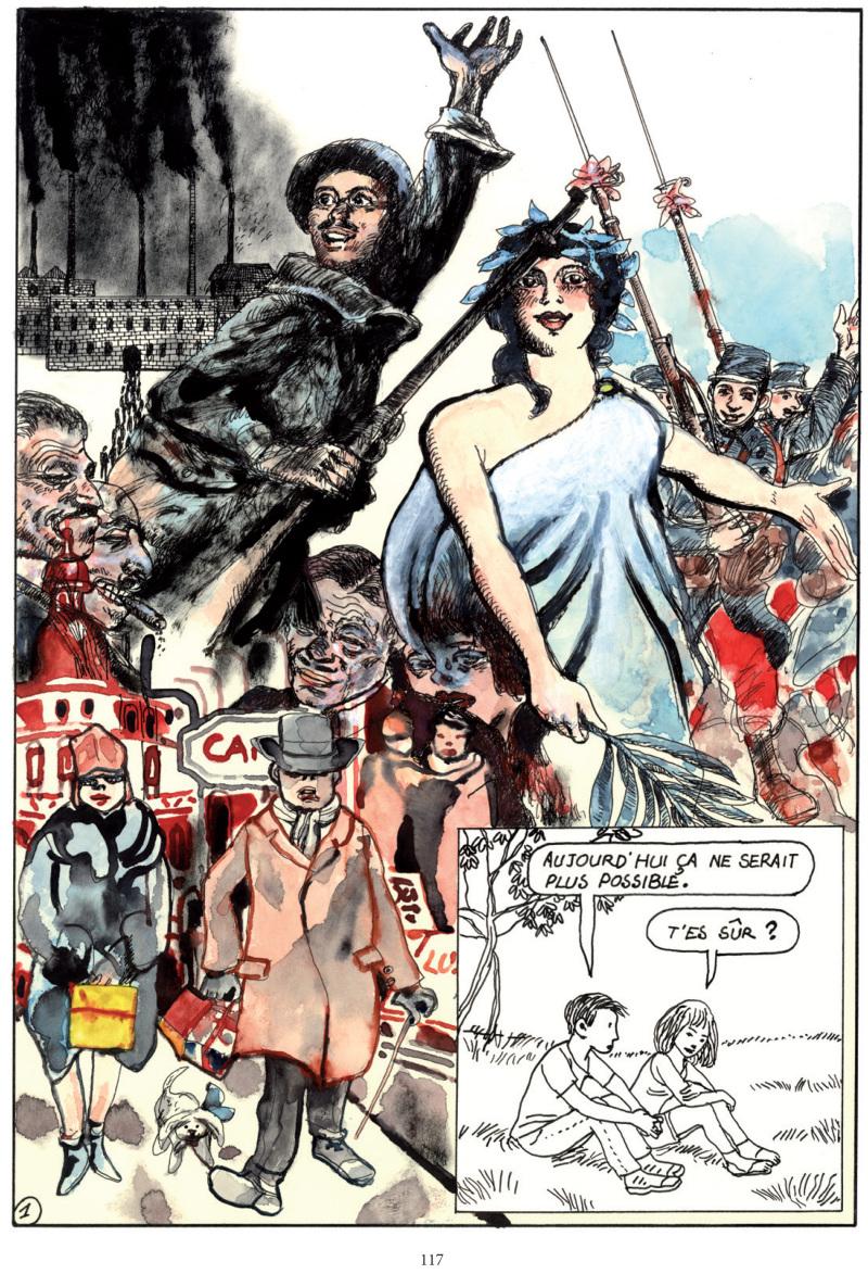 Extrait Baudoin - Bande dessinée Traces de la Grande Guerre, ce qu'il en reste - Collectif On A Marché Sur La Bulle