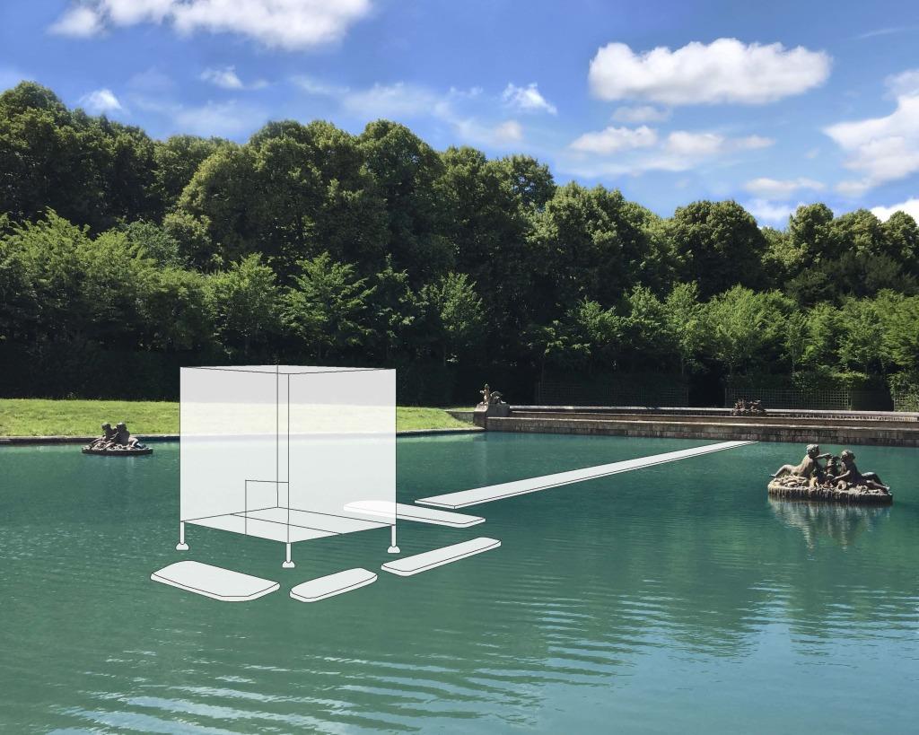 Glass Tea House Mondrian project