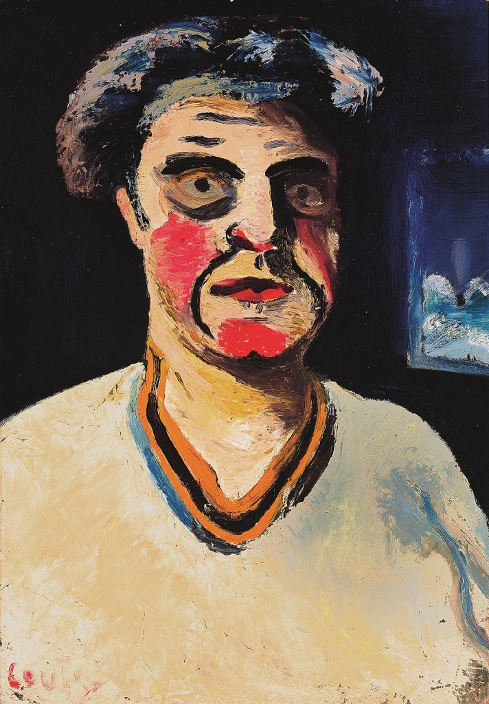 Jean Couty, Autoportrait, 1936