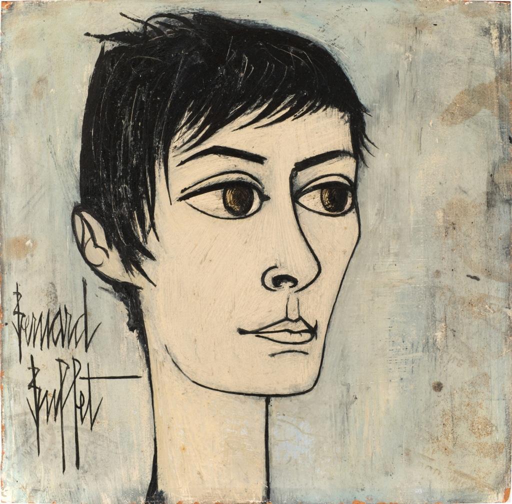 Bernard Buffet, Portrait d'Annabel, 1958-1959