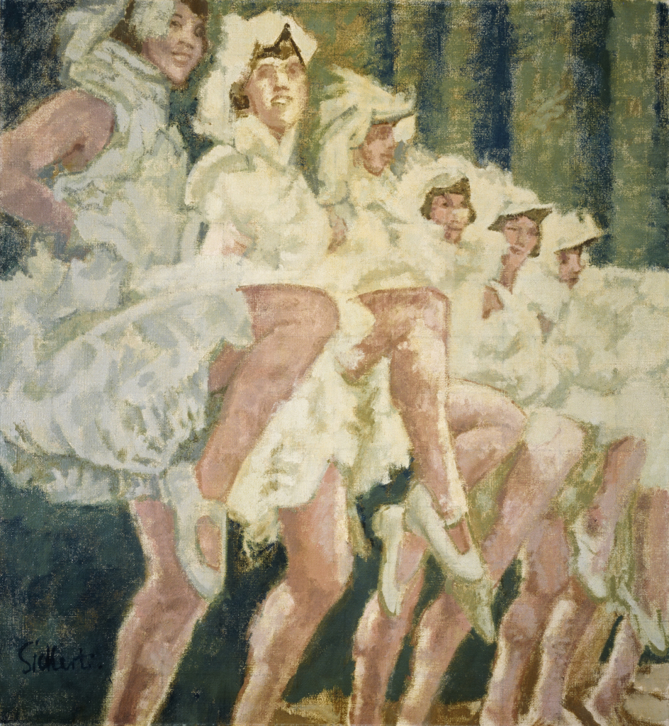 Walter Richard Sickert, High-Steppers, 1938-39