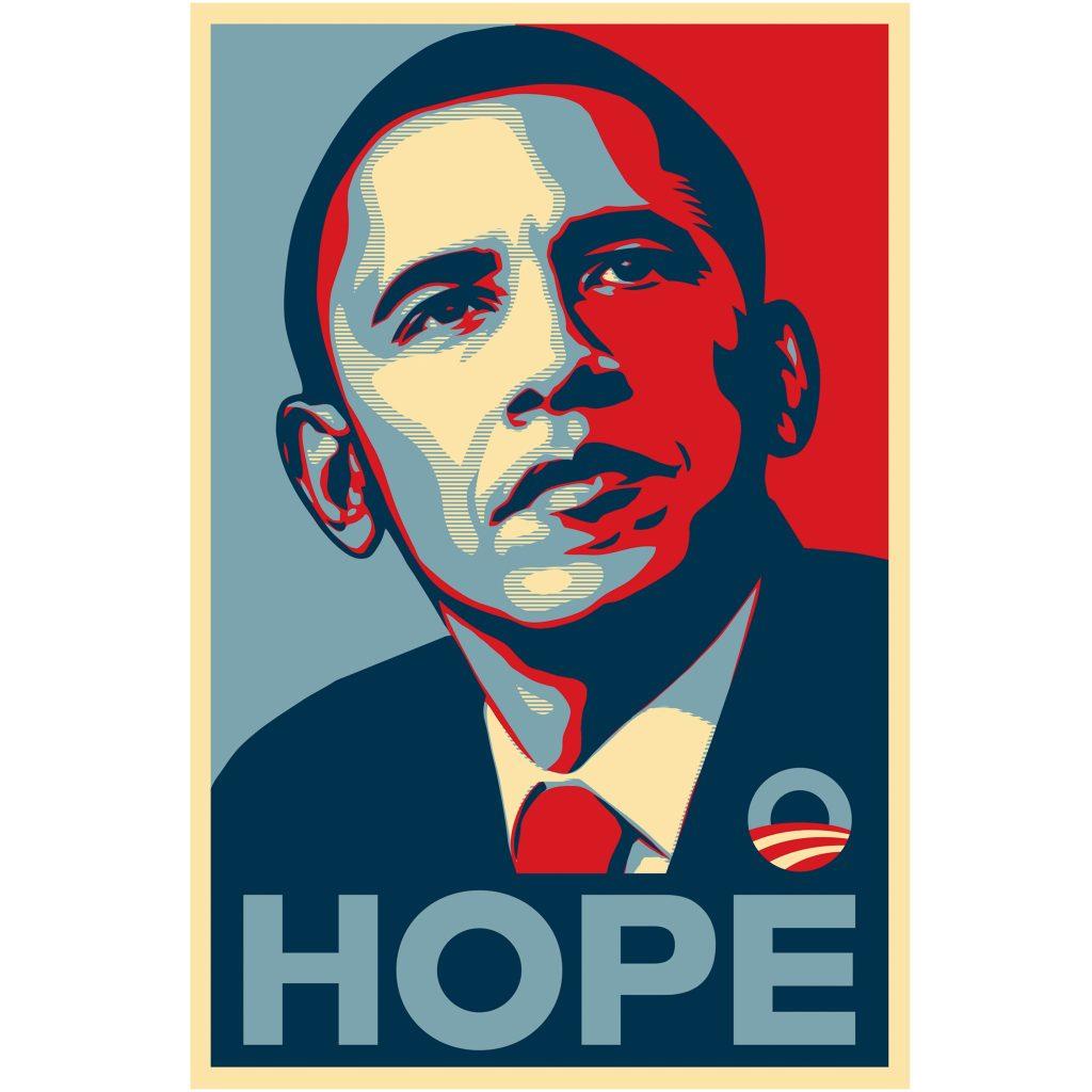 Hope, (c) Shepard Fairey, tous droits réservés
