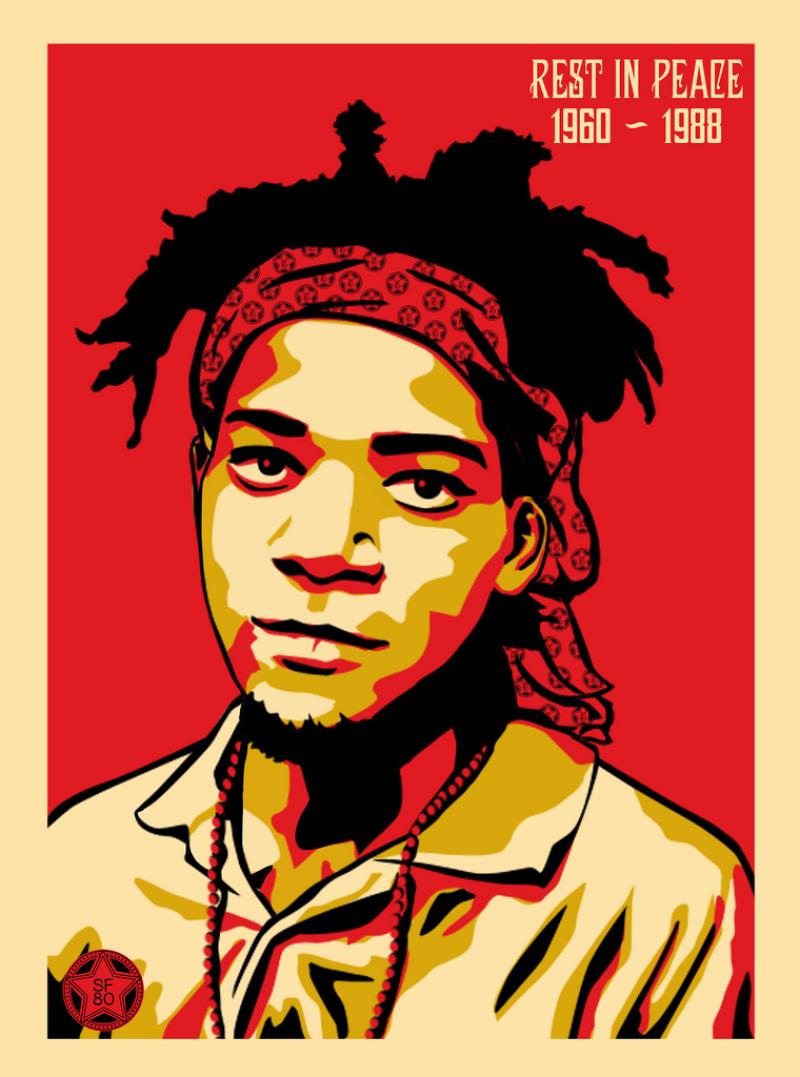 Jean-Michel Basquiat - SF80 X OBEY (c) Tous droits réservés