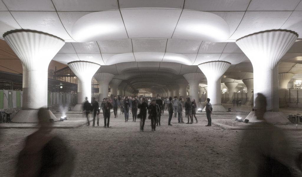 Pablo Valbuena, Kinema Tope Gare d'Asuterlitz