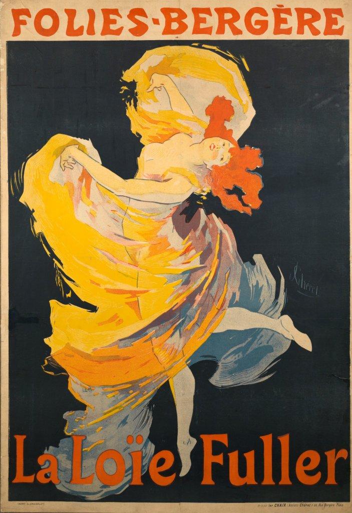 Jules Cheret, La Loie Fuller, 1893