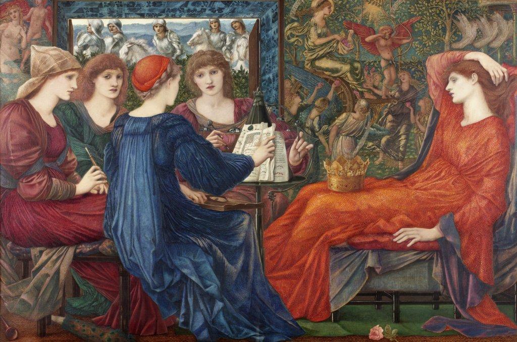 Laus Veneris, c.1873-75