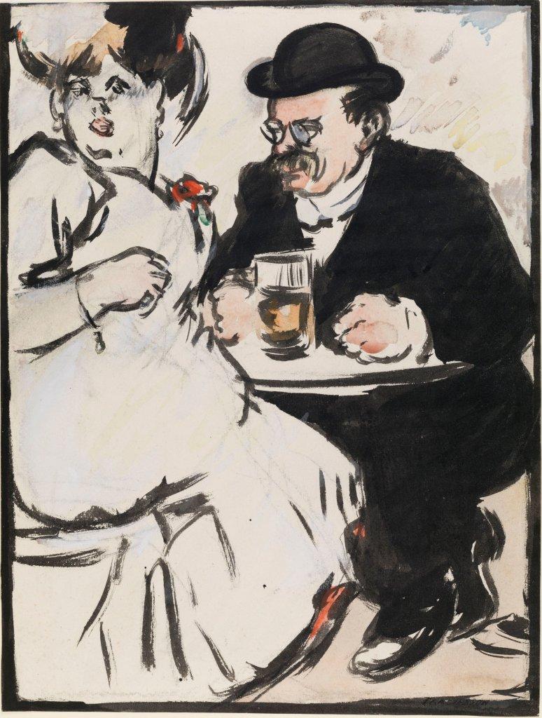 John Duncan Fergusson, Les Bourgeois, 1909