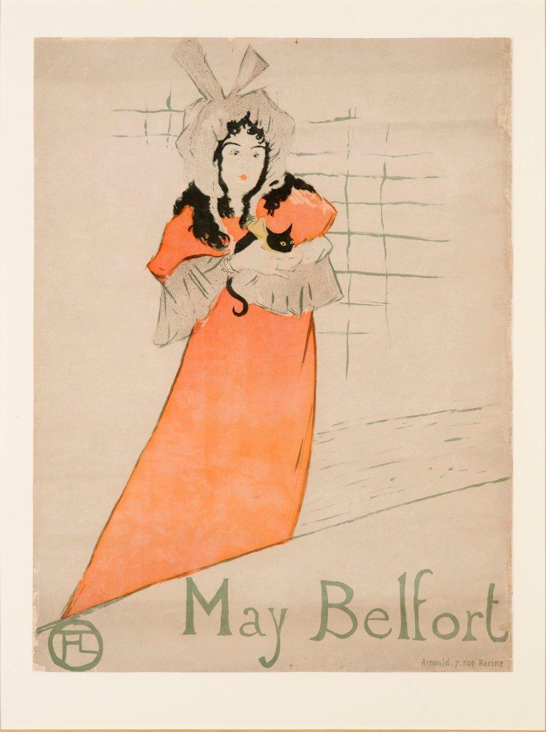 Henri de Toulouse-Lautrec, May Belfort, 1895