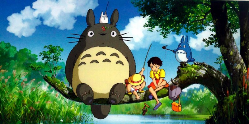 My Neighbor Totoro (1988) / My Neighbour Totoro / Tonari No Totoro Mon voisin Totoro Dir: Hayao Miyazaki Ref: MYN006AF Photo Credit: [ Studio Ghibli/Tokuma-Shoten/Nibariki / The Kobal Collection ] Editorial use only related to cinema, television and personalities. Not for cover use, advertising or fictional works without specific prior agreement