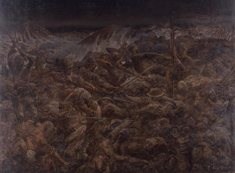 Morts héroiques sur l'île d'Attu