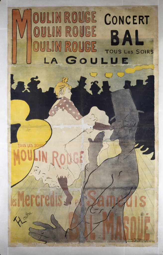 Henri de Toulouse-Lautrec, Moulin Rouge, La Goulue