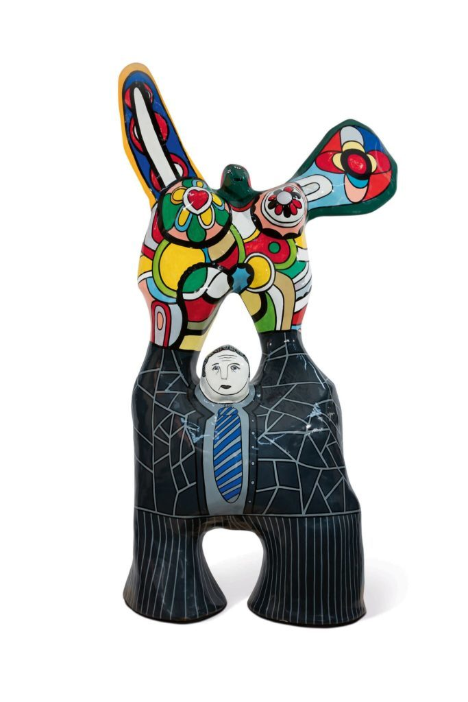 Niki de Saint-Phalle, Le poète et sa muse, Photo courtesy of Sotheby's