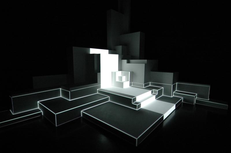 Pablo Valbuena, Augmented sculptures series 08
