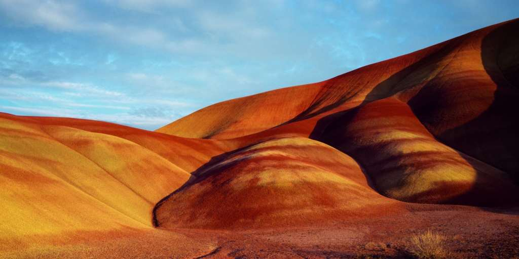 Painted hills, John Day national beds, Oregon