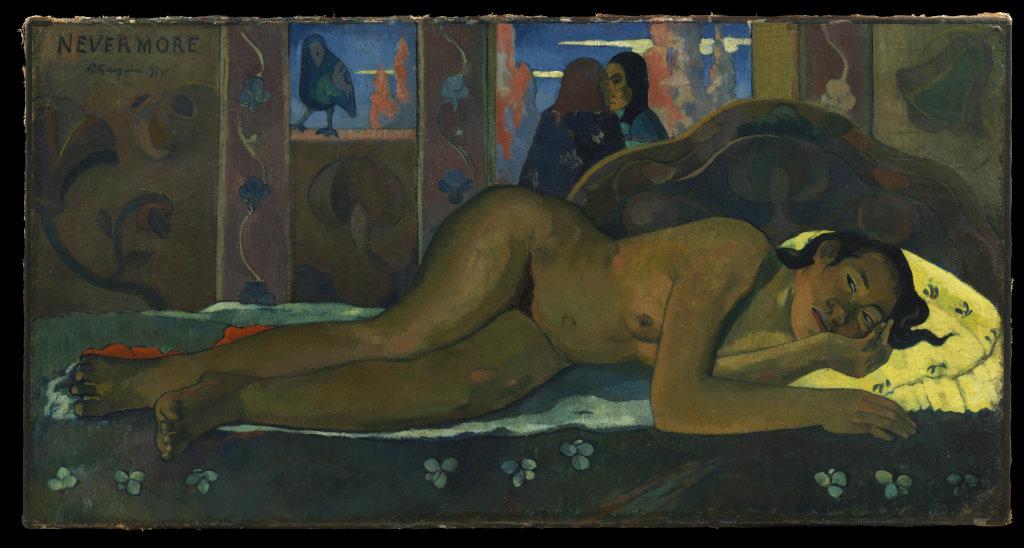 Paul Gauguin, Nevermore, 1897