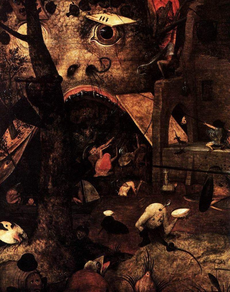 Pieter Brueghel l'Ancien, Dulle Griet, 1563 (detail)