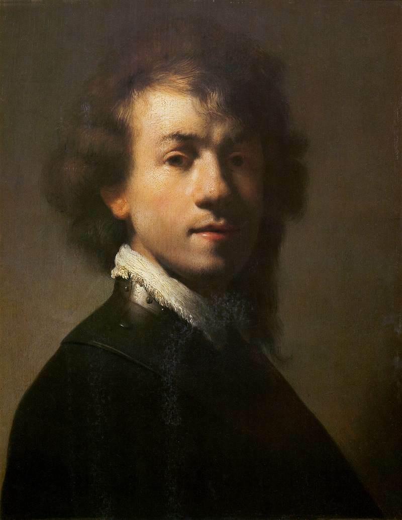 Portrait of Rembrandt with a Gorget, vers 1629, tous droits réservés