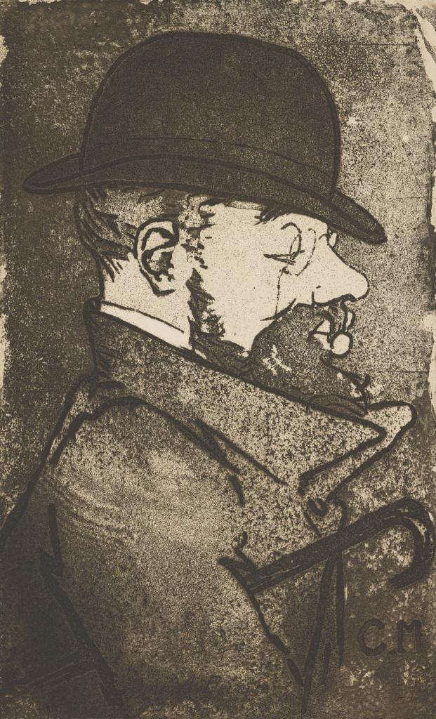 Charles Maurin, Portrait de Toulouse Lautrec