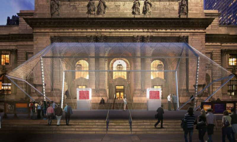 Projet Odyssey, Image courtesy of Marc Quinn studio , Human Love Worldwide, Norman Foster Foundation