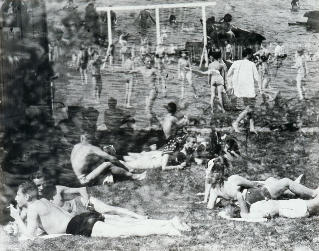 Raoul Hausmann, Rêve de la plage, 1947