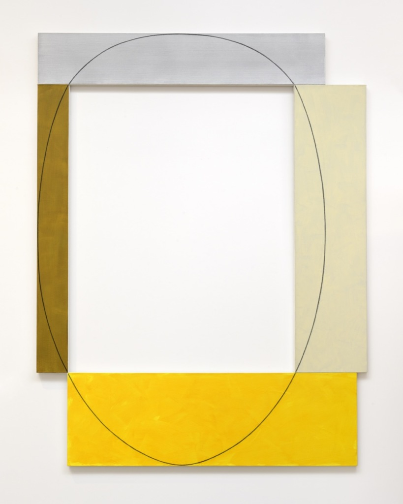 Robert Mangold, Four Color Frame Painting, 1985