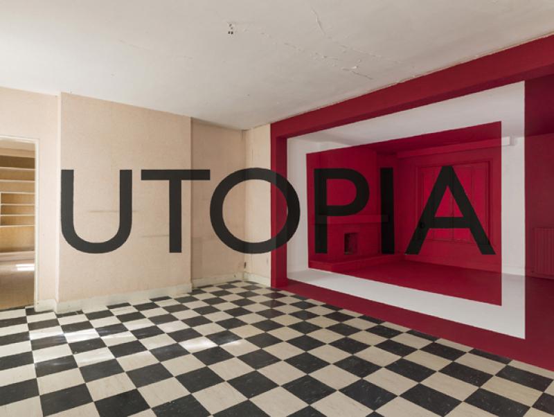 Georges Rousse, Utopia, 2015