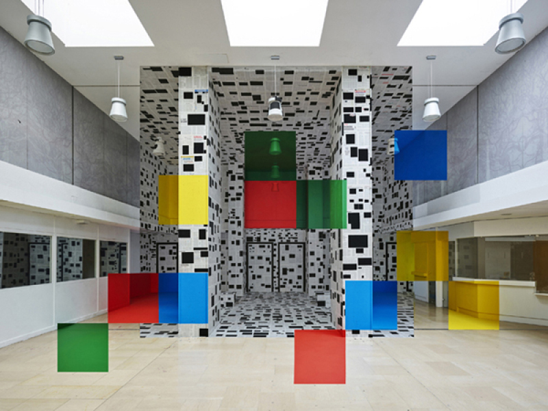 Georges Rousse, Chambéry, 2017