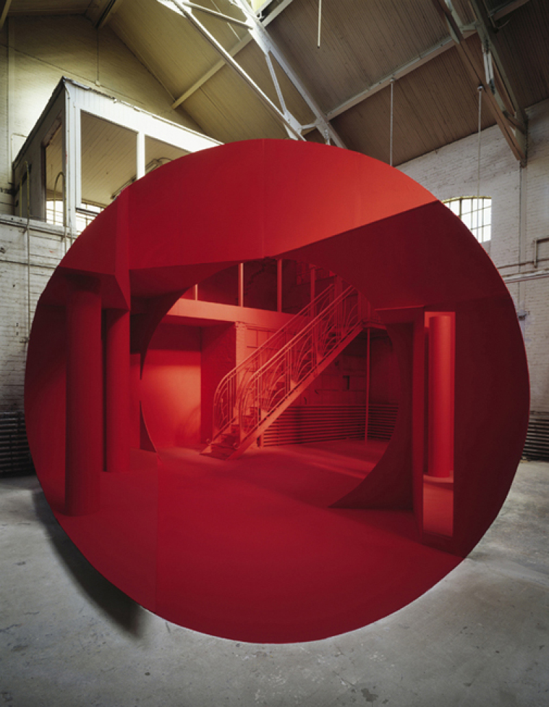 Georges Rousse, Montreal, 1997