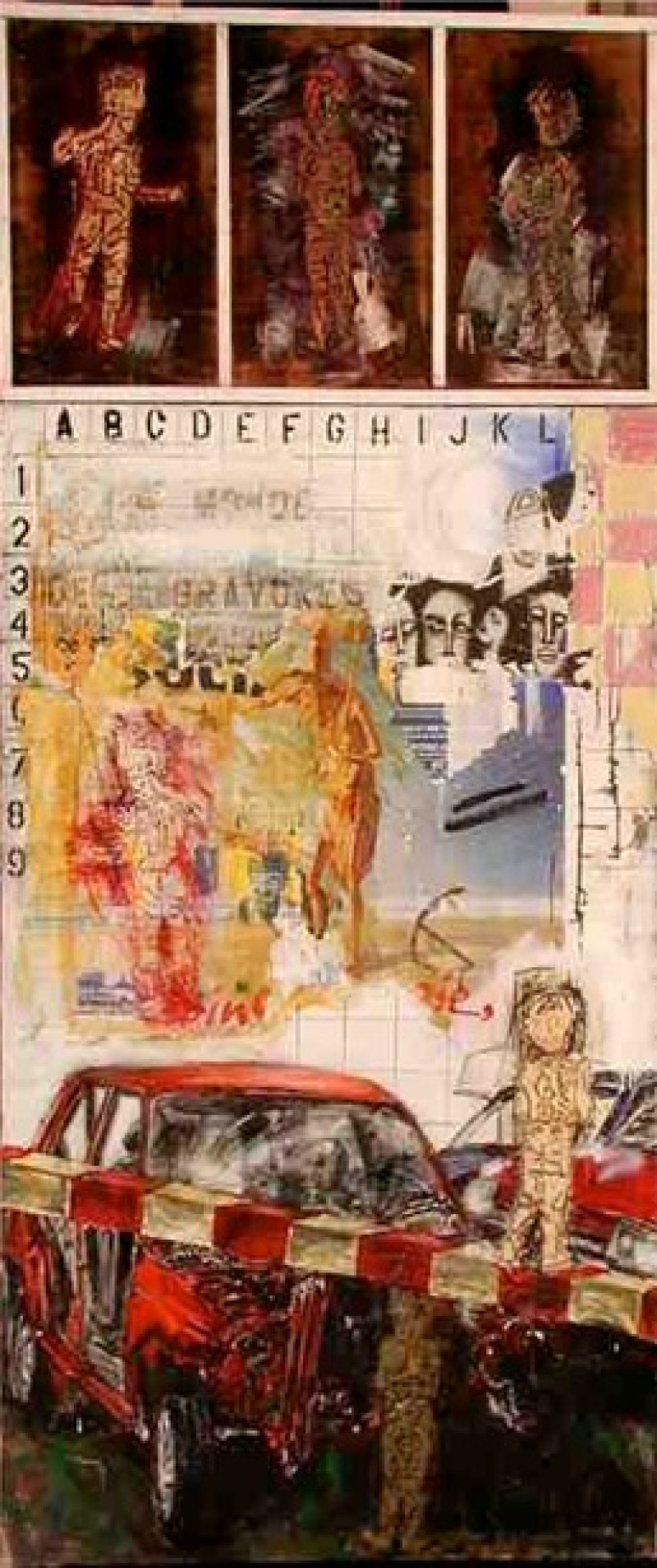 Tableau ancien - Philippe Pasqua
